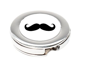 Handbag hook Moustache Movember