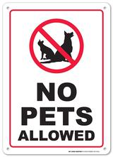 No Dogs/Pets on Fields