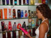 Girl Buying Tanning Lotions