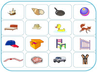 3 phoneme object cards