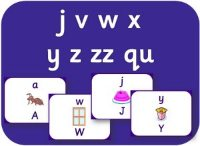 Letters and Sounds Phase 3 sets 6 and 7 letters