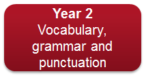 Y2 vocabulary grammar and punctuation