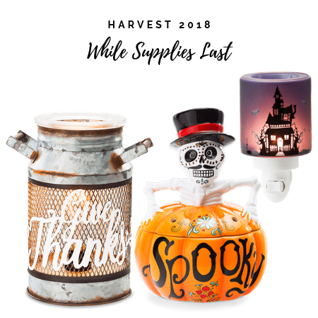 Scentsy Fall Halloween Products