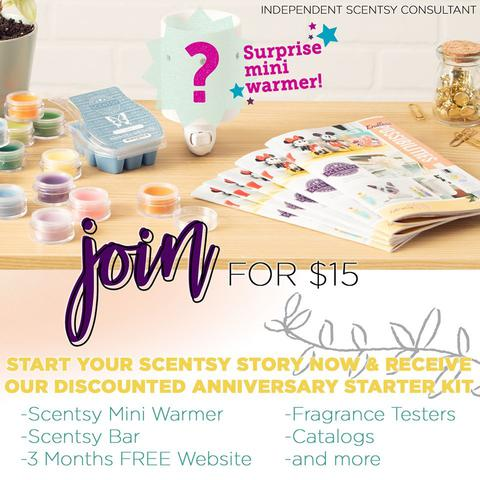 Join Scentsy Online