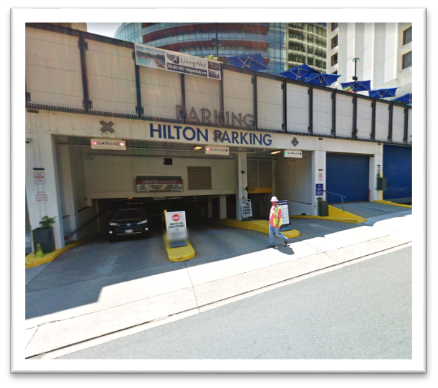 1) SELF-PARKING at Washington Hilton