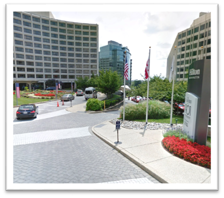 2) VALET OVERNIGHT PARKING Washington Hilton Guest Valet Parking