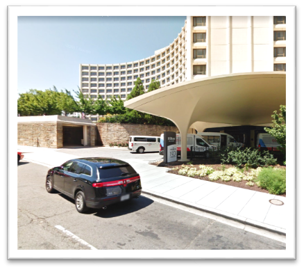 3) VALET  EVENT PARKING at Washington Hilton