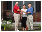 Read About the Service Zhanm Xiang & Hong JI Received from Realtor Jim Cadwalader when Buying a Home in Fishers, Indiana