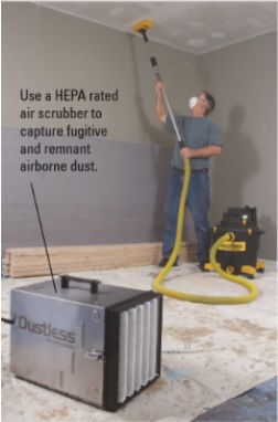 Dustless Air Scrubber