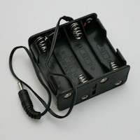 12 Volt AA Battery Holder & Wire Leads