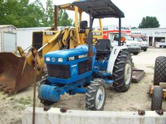 Ford New Holland 1720 Tractor w Brush Hog