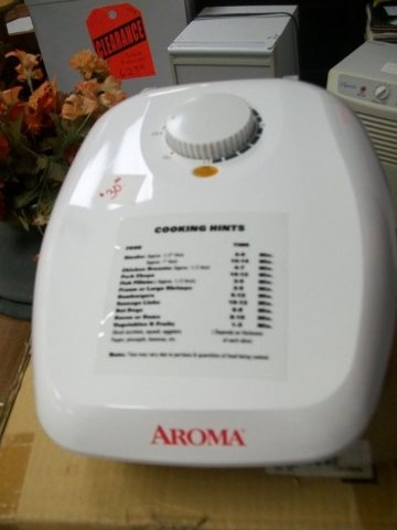 Never used Aroma Grill