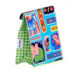 childrens gift ideas,mexican oilcloth lunchbags