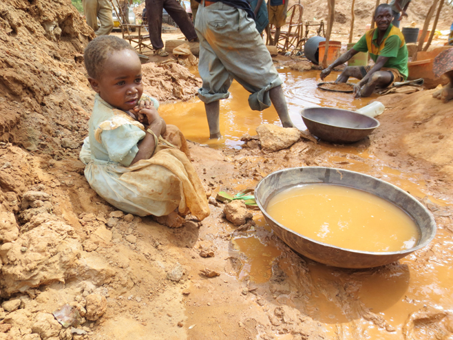 Children Exploited In Gold Mines