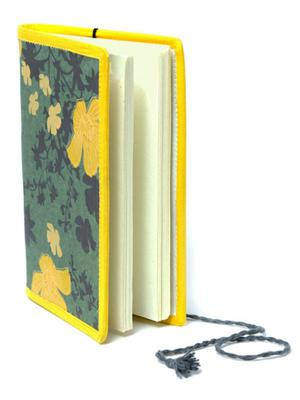 Recycled Paper Journals Floral Cover
