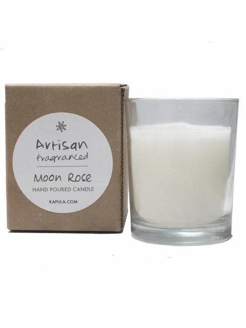 perfumed fair-trade candles