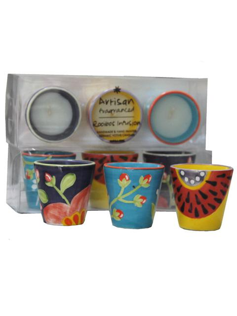 Gift boxed fairtrade candles