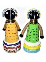 African Beaded Dolls