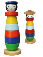 Ecofriendly wooden toys