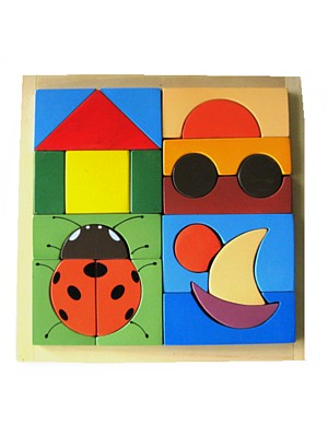 jigsaw puzzle wooden