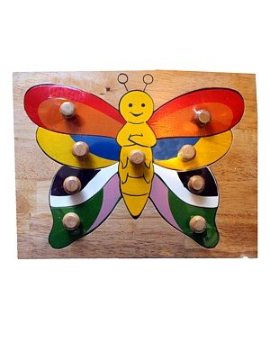 butterfly knob puzzle