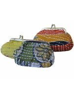 Purse Made From Recycled Saris