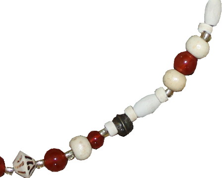 fairtrade beaded necklace