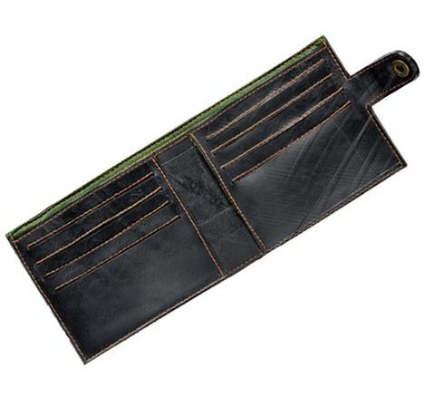 wallets made from recycled bike tyres