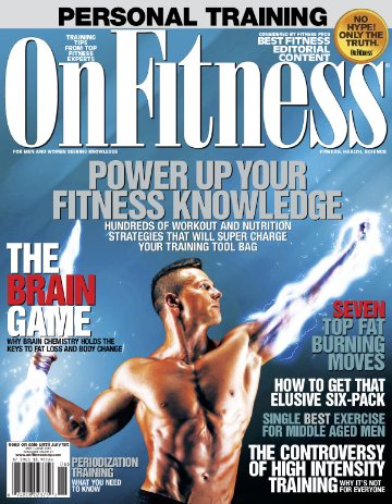 OnFitness May/ June 2015 issue. Fitness, Health, Science