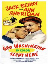 George Washington Slept Here DVD.