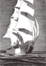 The Whaling Ship PEQUOD
