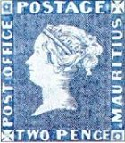 The Blue Stamps of Mauritius