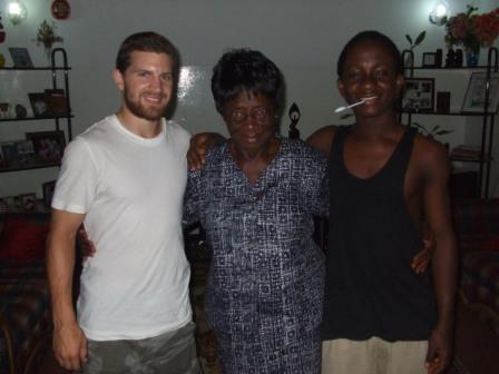 Brandon, Grandma and Kweku