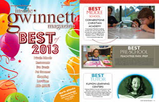 Best Middle School Inside Gwinnett Magazine Best of 2013