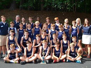 Cornerstone wins Cross Country Championship