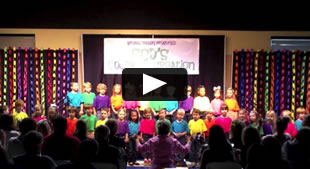 Kindergarten Class Play Video