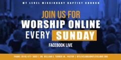 Join Our Sunday Service Live Online