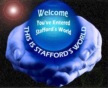 Stafford's World with Mark Stafford every Sunday at 3:00 pm
