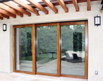 As You Rotate The Lever, Hidden High Tech Wheels Rotate Down And Actually  Elevate The Sliding Door Panel, Opeing Up Entire Walls Of Your Home To The  ...