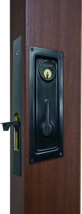 FLUSH LOCK HANDLE SET