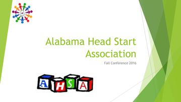 2016 Fall Conference Slide Show