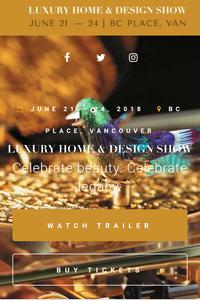 Summer 2018 Luxury Tradeshow.�BC Place, Vancouver.�