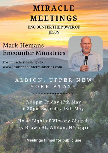 Miracle Meeting With Mark Hemans