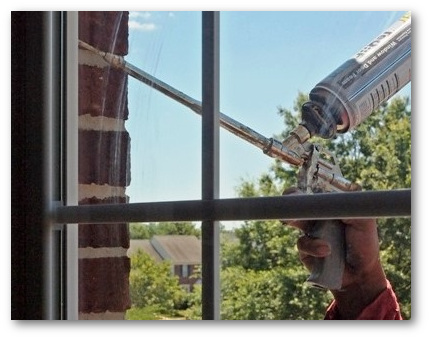 Properly sealed replacement windows Wheaton