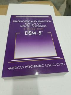 DSM-5- Diagnostic and Statistical Manual of Mental Disorders 5th ed. by APA, NEW $45.99