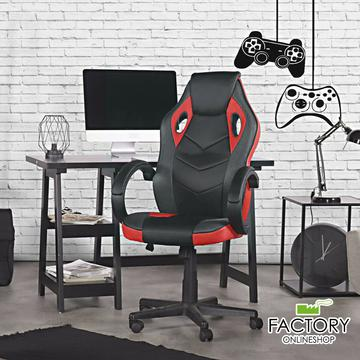 Gaming Racing Chair Office High Back Ergonomic Computer Desk Swivel PU Leather $95.96