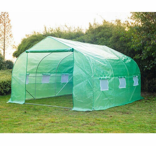 Greenhouse 12'x10'x7' Large Portable Walk-in Hot Green House Plant Gardening $132.99