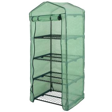 Mini Greenhouse Outdoor Portable Green House Gardening w/ 4 Tier PE Cover $33.99