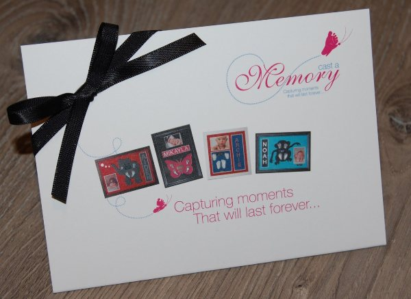 Baby hand and feet sculpture casting frames - gift voucher from Cast a Memory Australia