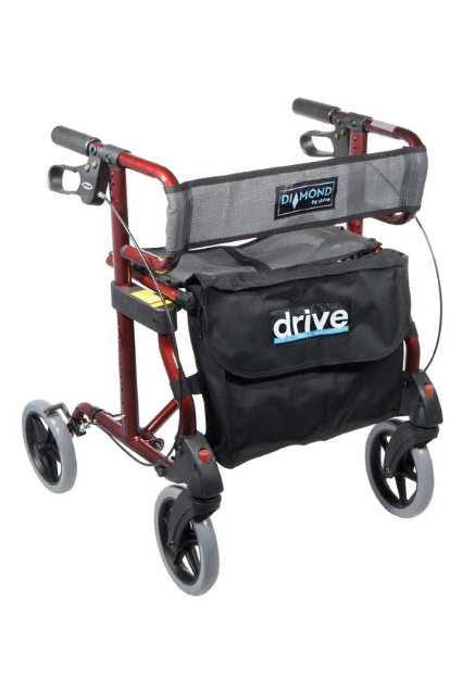 Drive Diamond Aluminum Rollator walker